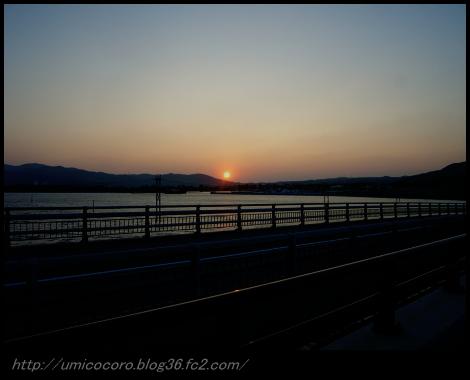 久米島の夕焼けだよ。。。