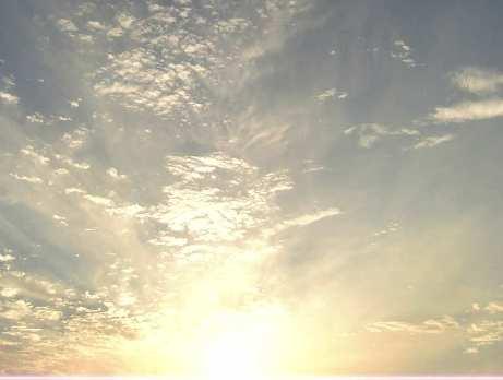 雲からの光3