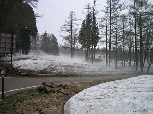赤倉の雪景色