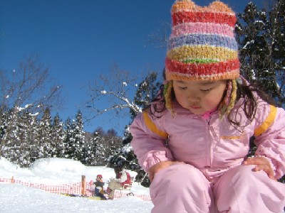 雪とひーたん