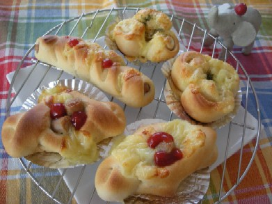 2月21日惣菜パン