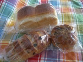 たまには買ってきたパンを