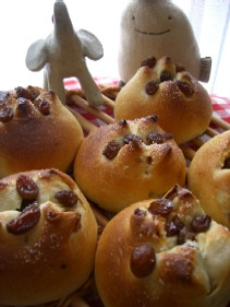レーズンシュガーパン1