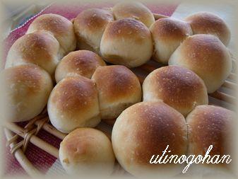 双子パン、三つ子パン