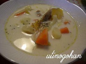 シチュー風スープ