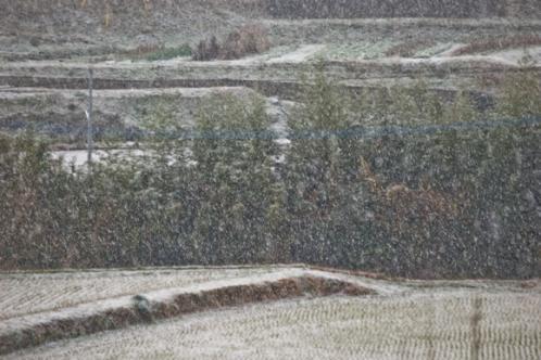 雪景色遠景