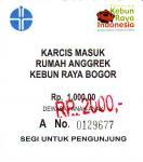 Bogor Orchid Garden Ticket