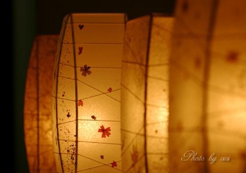 和紙の灯り