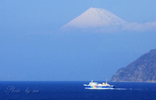 西伊豆から富士山01