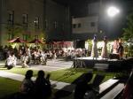 ルネスホール都市公園でフラメンコの野外ステージ
