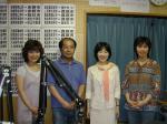 左から 平松ともこさん、福山哲郎さん、ぼあら、池上清美さん