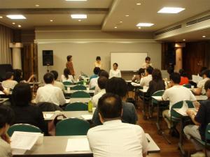 出版アカデミー大阪セミナー会場 中之島公会堂 大会議室