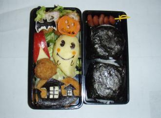 2009秋の校外学習のお弁当