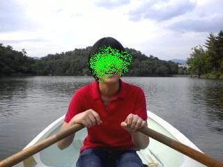 ボートこぎ