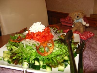 とっても美味しい野菜サラダ♪