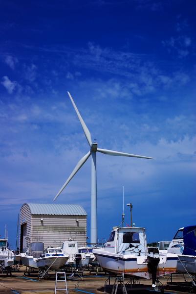 真夏の風車(かざぐるま)