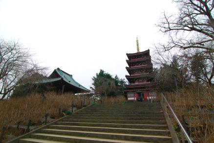 本土寺-五重の塔