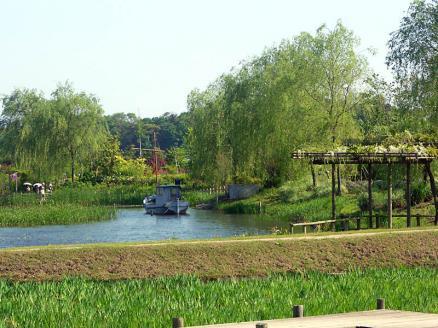 花ファンタジアの池