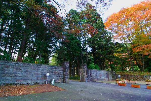 旧御用邸の門