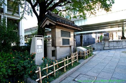日本橋 高札場