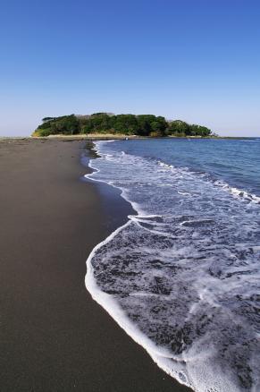 沖の島の砂州