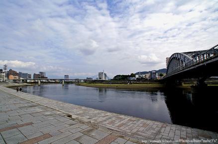 狩野川-御成橋付近
