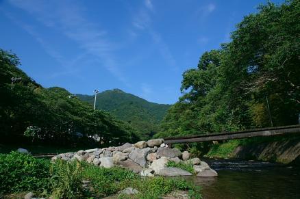 大沢河原の橋