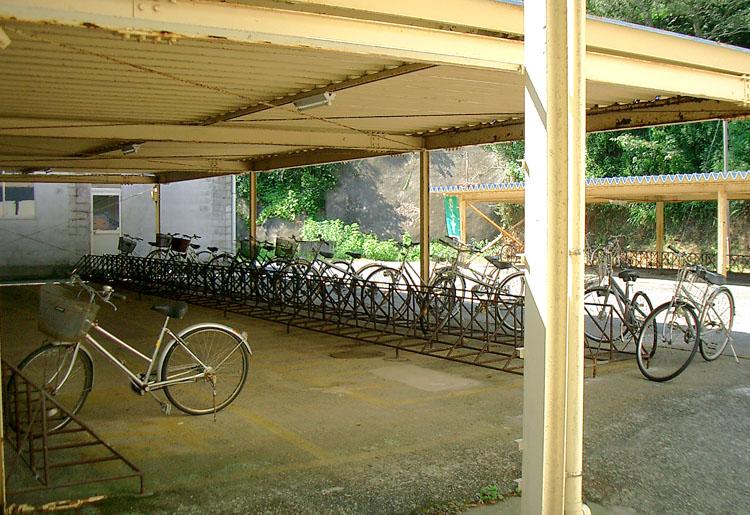 自転車の 自転車の鍵用キーホルダー : 自転車置き場がありました ...