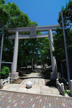 浅間神社一の鳥居