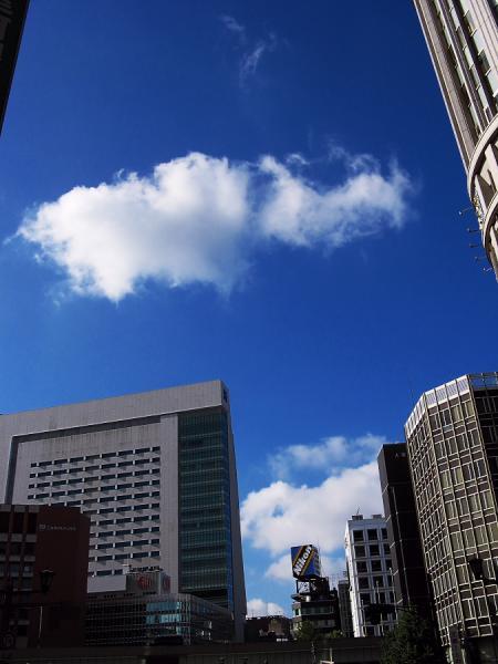 日本橋上空