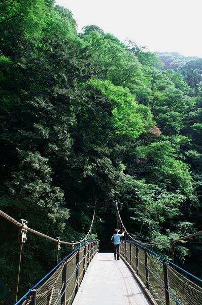 滝川の吊り橋
