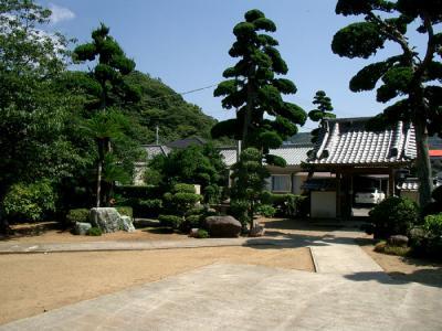 禅海寺の庭