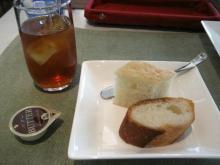 パンとアイスティ