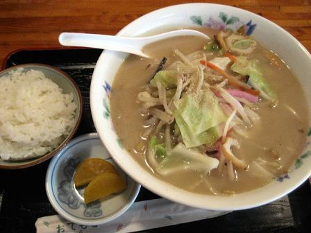 ちゃんぽんと小めし(タケシタ)