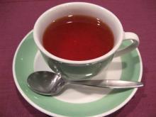 〆は紅茶で。
