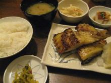 あじと ツボ鯛の西京焼定食