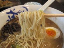 一龍 細めの中麺