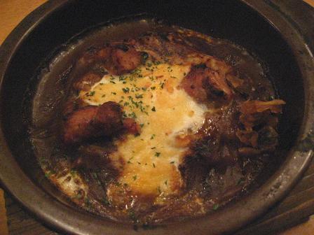 鶏の焼きカレー