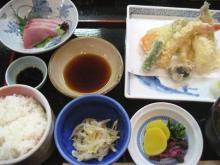 しま川 天ぷら膳