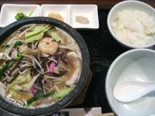 道 石焼海鮮チャンポン定食