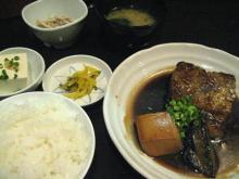 太刀魚の煮付定食