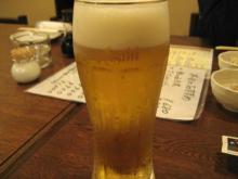 あじとで生ビール