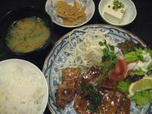あじと 豚の味噌焼定食