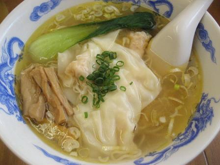 エビ福ワンタン麺(塩味)