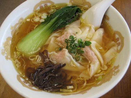 肉福ワンタン麺 醤油味
