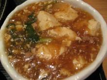 今日の小鉢は麻婆豆腐