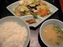 陽華樓 八宝菜定食