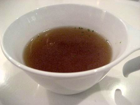 七半 コンソメスープ