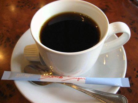 コーヒーも付く