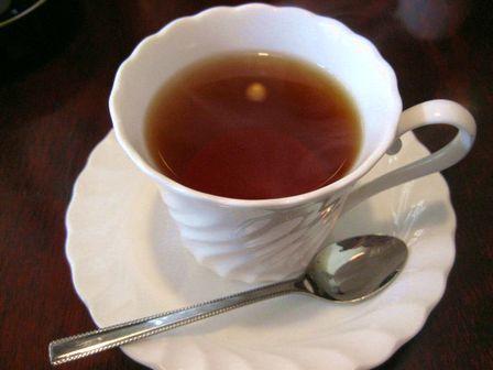 アフターは紅茶で